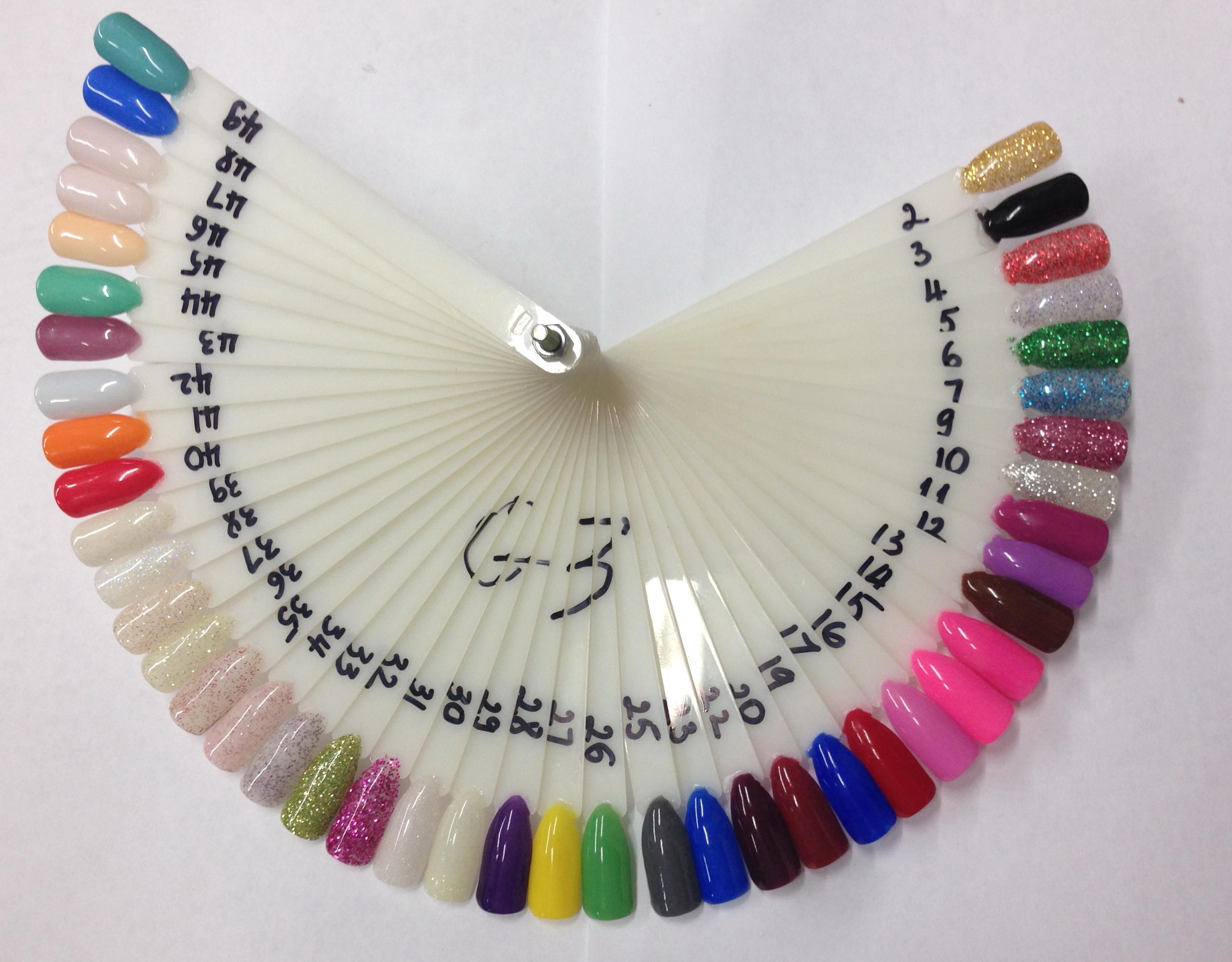 VNT Nail Supply - G3 Nail Color 1oz # 1 -- > 49 - Dipping Powder ...
