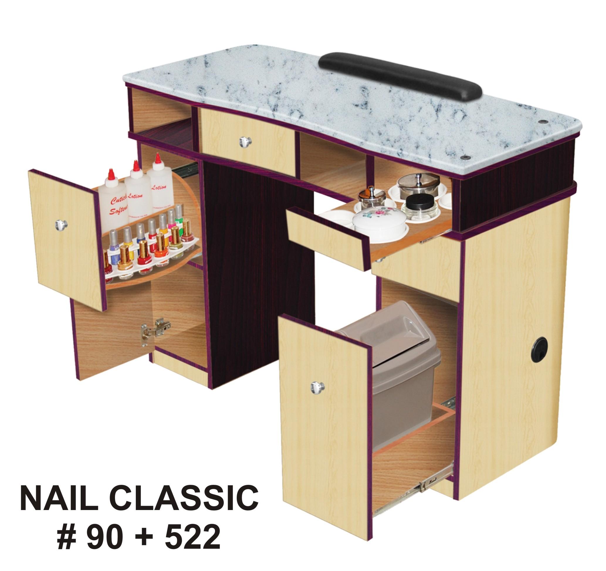 nail sale tips salon desk for best room elegant design designs with