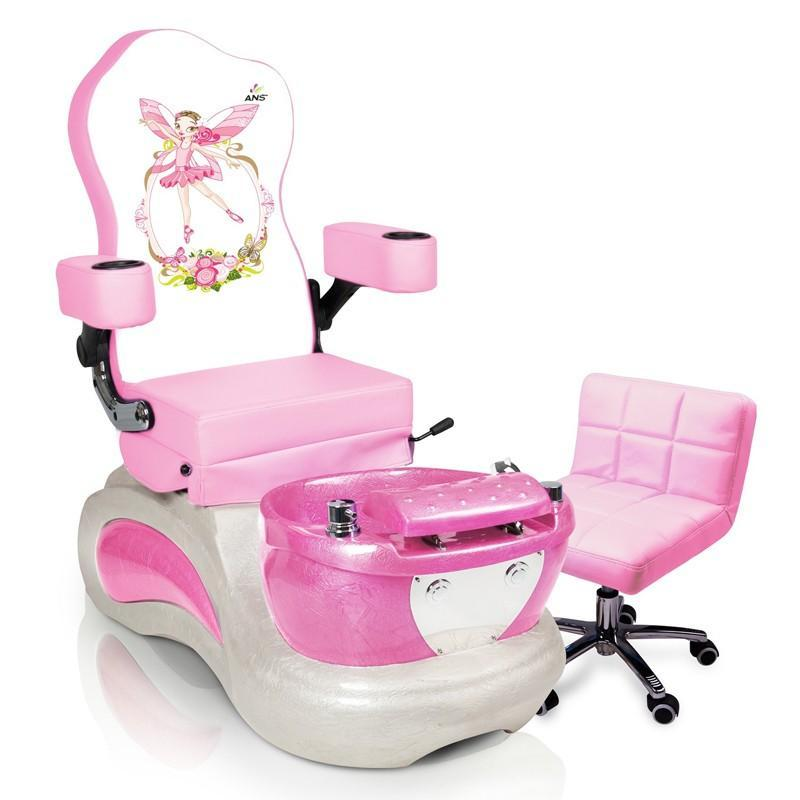 Vnt Nail Supply Pink Pixie Kids Pedicure Spa Chairs