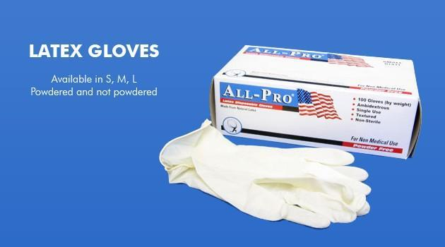 Vnt Nail Supply Latex Gloves Powder Free Pedicure Accessories
