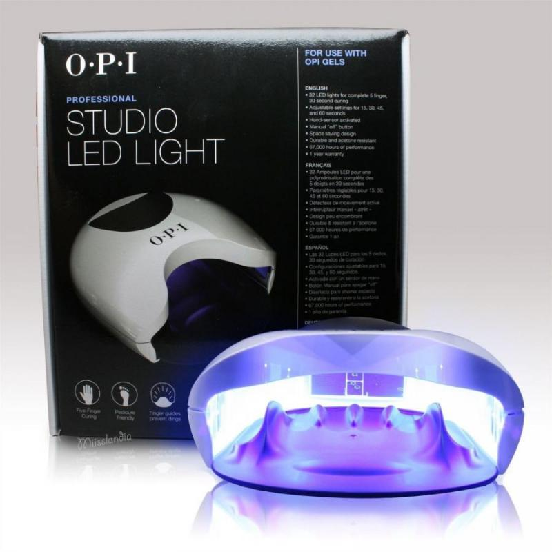 VNT Nail Supply - OPI STUDIO LED LIGHT Lamp - UV Lamps - UV Lamps